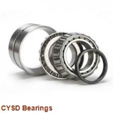35 mm x 62 mm x 21 mm  CYSD 33007 tapered roller bearings