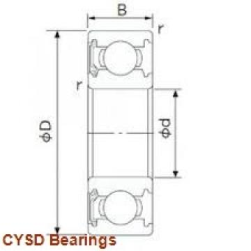40 mm x 90 mm x 23 mm  CYSD 30308 tapered roller bearings