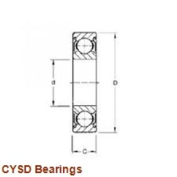 60 mm x 130 mm x 46 mm  CYSD NU2312E cylindrical roller bearings