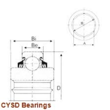 35 mm x 72 mm x 17 mm  CYSD NF207 cylindrical roller bearings
