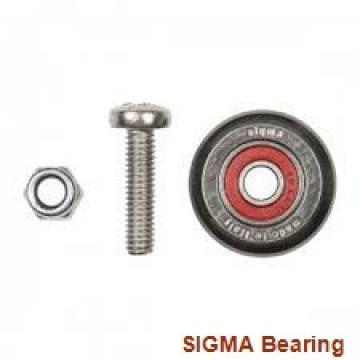 88,9 mm x 206,375 mm x 44,45 mm  SIGMA QJM 3.1/2 angular contact ball bearings