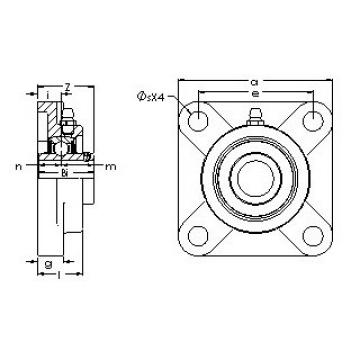 AST UCF 210-31G5PL bearing units