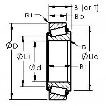 AST 3872/3820 tapered roller bearings